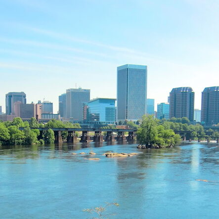 Skyline from Belle Isle (14a) - (c) Chuck Gates